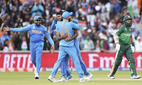 Pakistan 34-1 after 9 overs against India