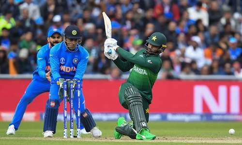 Pakistan 75-1 after 16 overs, batting at snail's pace in pursuit of giant target