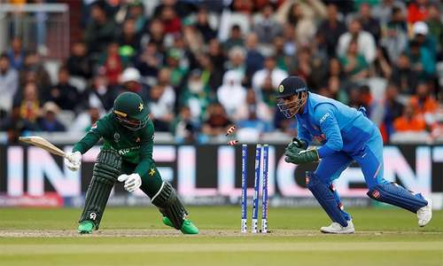 In pictures: How the highly anticipated Pakistan vs India match went down
