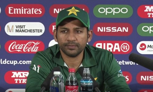 Sarfaraz stands by decision to bowl first against India, acknowledges team's shortcomings