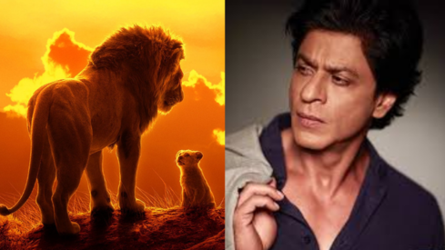 Shah Rukh Khan and his son will voice the Hindi version of The Lion King