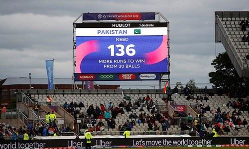 آئی سی سی نے میچ ختم کرنے کے بجائے پاکستان کو 5 اوورز میں 136رنز کاہدف کیوں دیا؟