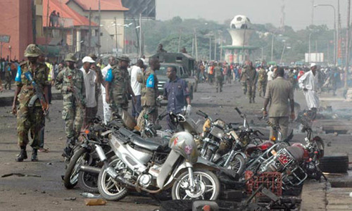 نائیجیریا: تین خودکش دھماکوں میں 30 افراد ہلاک