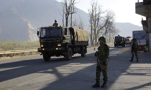 Car bomb targets Indian army vehicle in Kashmir, 8 injured