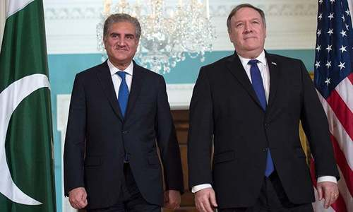 Qureshi, Pompeo talk bilateral relations, regional security
