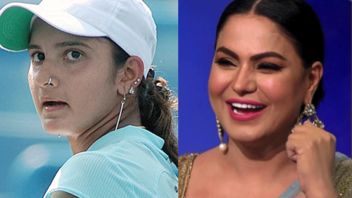 Veena Malik is firing shots at Sania Mirza and it's not okay