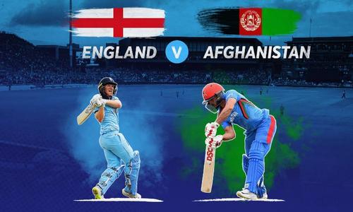 ورلڈکپ: انگلینڈ کی افغانستان کے خلاف ٹاس جیت کر بیٹنگ