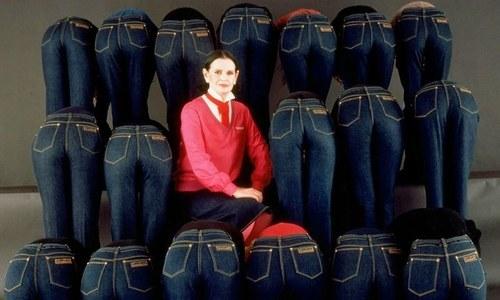 جدید بلیو جینز کی ڈزائنر گلوریا وینڈر بلٹ چل بسیں