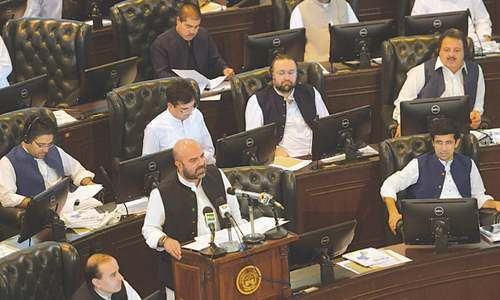 KP unveils surplus budget with record development outlay