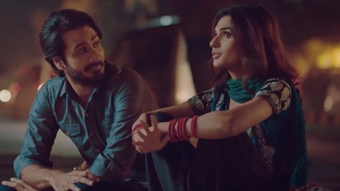Amna Ilyas and Faisal Saif take a romantic stroll in Ready Steady No's new song