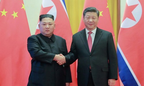 Xi pens friendship letter to N. Korea before rare visit