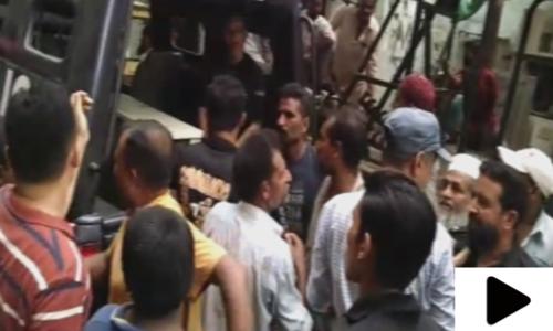 کراچی: لائنز ایریا میں پولیس اہلکاروں اور دکانداروں میں جھگڑا