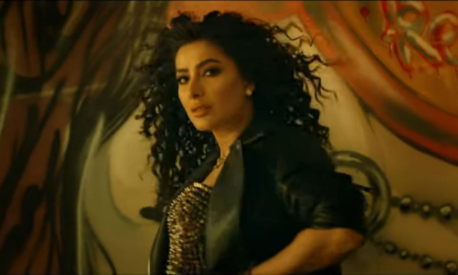 Mehwish Hayat makes a surprise appearance in Baaji's new song