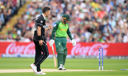ورلڈکپ: نیوزی لینڈ کی جنوبی افریقہ کے خلاف ٹاس جیت کر باؤلنگ