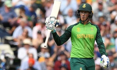 ورلڈ کپ: جنوبی افریقہ کا نیوزی لینڈ کو 242رنز کا ہدف