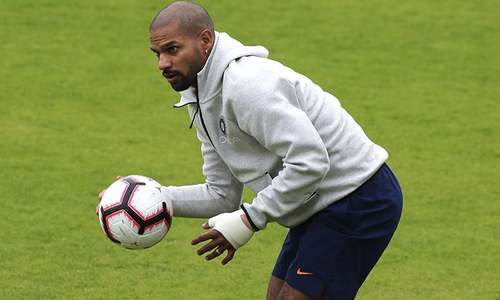 India's Shikhar Dhawan ruled out of the World Cup due to fractured finger