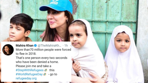 They are victims of war and terrorism: Mahira Khan speaks up on World Refugee Day