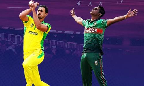 ورلڈکپ: آسٹریلیا کا بنگلہ دیش کے خلاف ٹاس جیت کر بیٹنگ کا فیصلہ