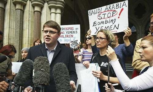 حکومت سعودی عرب کو ہتھیاروں کے فروخت کے فیصلے پر نظرثانی کرے،برطانوی عدالت