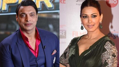 Shoaib Akhtar denies that he carries Sonali Bendre's photo in his wallet