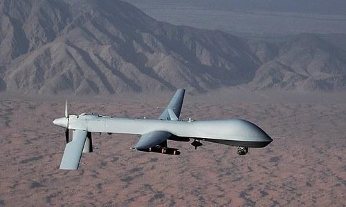'امریکی ڈرون کی فضائی حدود کی خلاف ورزی کے ناقابل تردید شواہد موجود'