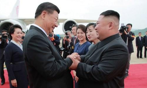 امریکی دباؤ کا سامنا کرنے میں شمالی کوریا کی مدد کریں گے، چینی صدر