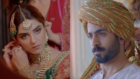 A big fat desi wedding is going down in Parey Hut Love's trailer