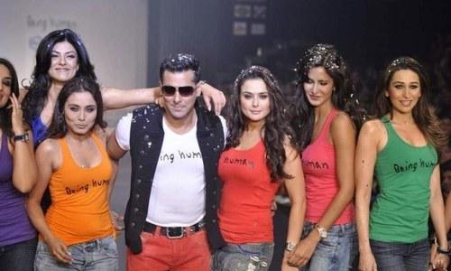کترینہ، کرینہ، دپیکا، پریانکا اور پریٹی مل کر بھی سلمان کو ہرا نہ سکیں