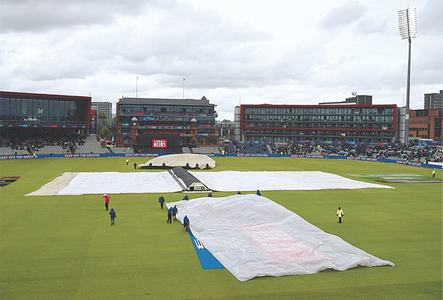 CRICKET: WHEN THE HEAVENS OPEN UP