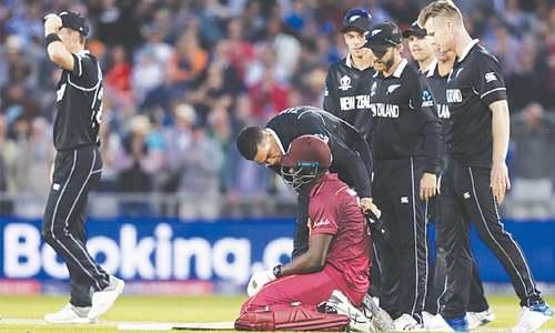 Kiwis survive Brathwaite scare to win thriller against Windies