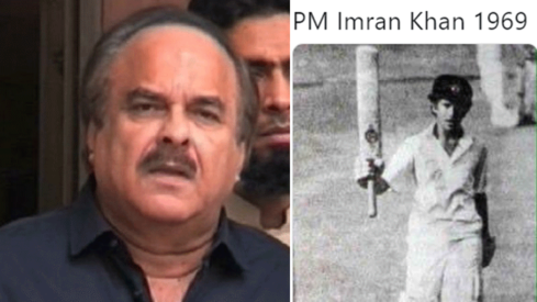 PM's top aide Naeem ul Haque mistakes Sachin Tendulkar for Imran Khan, gets trolled