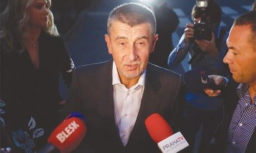 Massive rally in Prague calls for Czech PM's resignation