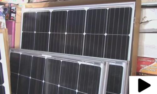 نئے ٹیکسز سے شمسی توانائی سے چلنے والی اشیاء کی قمیتوں میں اضافہ