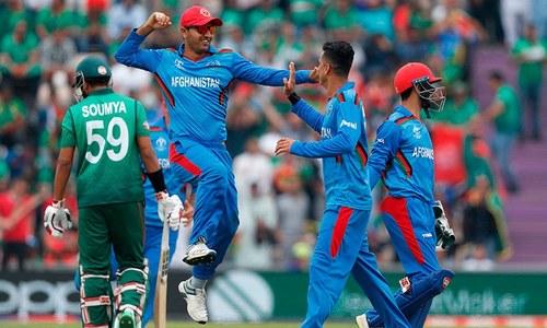 ورلڈ کپ: بنگلہ دیش کا افغانستان کو 263رنز کا ہدف