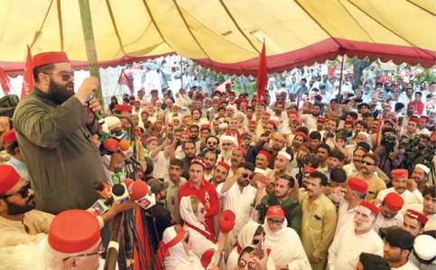 ANP protests silence of NAB over govt 'corruption'
