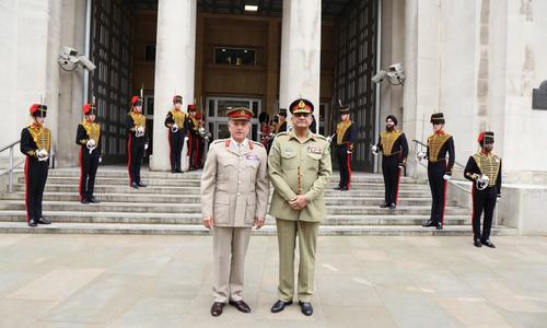 Talks held with UK to boost defence ties
