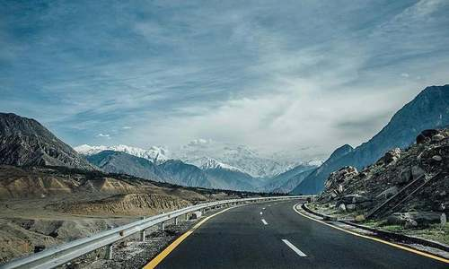 Karakoram Highway reopens to traffic in Hunza