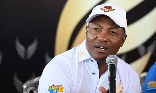 West Indies legend Brian Lara admitted to Mumbai hospital with chest pains