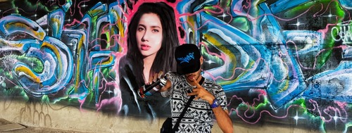 Meet the graffiti artist taking Karachi by storm