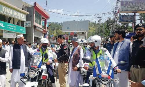 Traffic warden system launched in Battagram