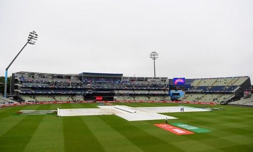 پاکستان بمقابلہ نیوزی لینڈ، موسم کی وجہ سے ٹاس تاخیر کا شکار