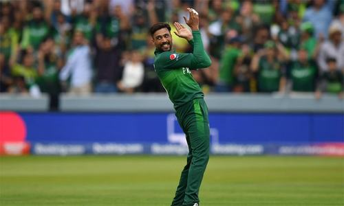 Amir strikes, takes out Guptill in World Cup clash against New Zealand