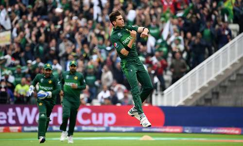 Munro falls to Shaheen Afridi, New Zealand 24 for 2 in World Cup clash against Pakistan