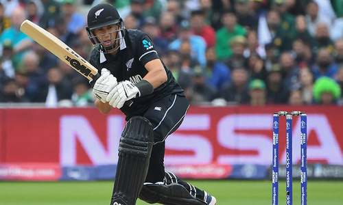 Shaheen strikes again, Ross Taylor walks back after scoring 3 in World Cup clash