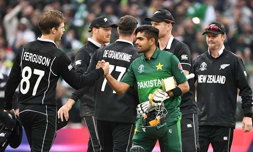 'One step closer to the dream': Twitterati react as Pakistan end New Zealand's unbroken streak