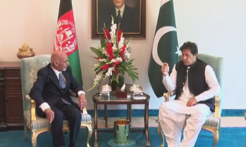 Afghan President Ashraf Ghani arrives in Pakistan, holds talks with PM Imran