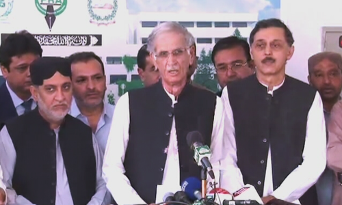 'BNP-M, govt have come to an agreement,' say Khattak, Mengal