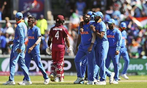 West Indies' World Cup journey comes to cruel end after thrashing by India