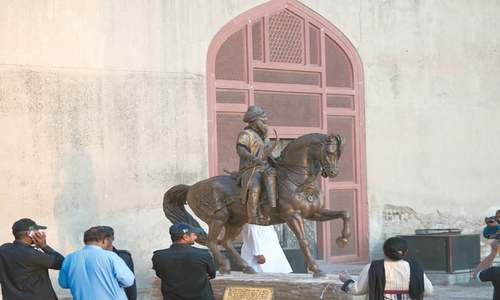 Statue of Ranjit Singh unveiled on his 180th death anniversary