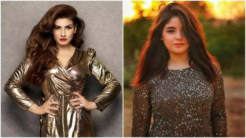 Raveena Tandon criticises Zaira Wasim's decision to leave Bollywood